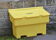 Picture of a grit bin
